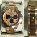 W#11 mens 18k yellow gold Daytona Rolex Watch -Paul Newman - collectible model - engraved bezel - excellent condition $27,950.00