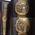 W#17 18k yellow gold AP skeleton watch current replacement value $60,000.00 trade in special $11,950.00