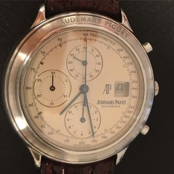 W#19 men's stainless steel Audemars Piguet Watch Haitieme Chronograph (1990s) model $4850.00