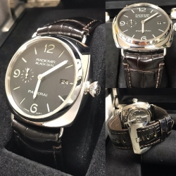 W#07 Panerai PAM00388 Radiomir Black Seal automatic 72 hr reserve Complete box set $4,995.00