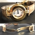 W#11 Cartier vermeil Paris Quartz Watch $695.00