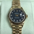 W#01 Rolex Ladies Yellow Gold President  Factory diamond dial TRADE IN SPECIAL $4,350.00